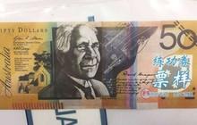Tiền giấy giả có chữ Trung Quốc bị phát hiện lưu hành tại Úc
