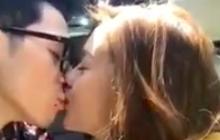 Úp mở chuyện đã chia tay nhưng mới đây, Ngọc Thảo lại đăng clip hôn say đắm bạn trai lên MXH