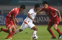 Olympic Myanmar suýt gây sốc khi gặp đối thủ mạnh Triều Tiên