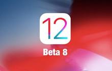 Apple phát hành iOS 12 Beta 8: Khắc phục các vấn đề về hiệu năng trên bản Beta 7