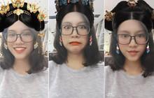 """Góc tự tin tiến cung: Hết ghép mặt, app chụp ảnh thần thánh lại ra mắt thêm 3 sticker tóc quý phi """"Diên Hi Công Lược"""" cực hot"""