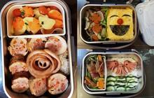 Vợ chuẩn bị đồ ăn vừa ngon vừa bắt mắt, anh chồng mắc cỡ chỉ dám len lén mở ra vào mỗi bữa trưa