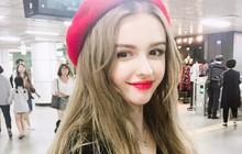 Ngất ngây với vẻ đẹp chuẩn búp bê của hot girl Uzbekistan 21 tuổi sống tại Hàn