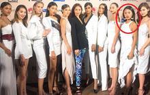 """Rima Thanh Vy """"lọt thỏm"""" giữa dàn thí sinh """"Asia's Next Top Model"""" trong họp báo ra mắt mùa 6"""