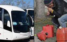 Úc: Toan hút trộm xăng, nhóm thanh niên móc nhầm ống vào bể phốt trên xe bus