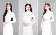 Sau bộ ảnh nữ thần, dàn Hoa hậu Việt Nam tiếp tục khoe vẻ tinh khôi trong tà áo dài trắng thướt tha