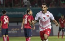 Thắng đậm Olympic Lào, chủ nhà Indonesia giành vé vào vòng knock-out