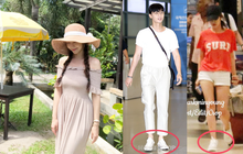Đã đi du lịch, Park Min Young và Park Seo Joon còn diện đồ đôi và chụp hình cho nhau?