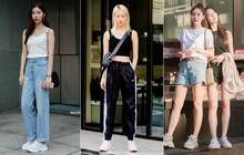 """Sắp hết hè nhưng giới trẻ Hàn vẫn mê mệt crop top, năng diện đồ khoe eo vừa sexy lại vừa """"chất"""""""