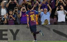 Messi lập cú đúp, Barca thắng tưng bừng ngày khai màn La Liga 2018/19