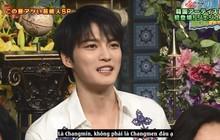 Không ngại khi được hỏi về DBSK, Jaejoong còn chỉnh lại khi MC đọc sai tên Changmin