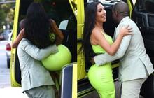 Yêu nhau đã 6 năm, Kanye vẫn cưng chiều Kim Kardashian hết mực khi bế bổng vợ rời khỏi xe