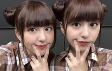 Cặp chị em song sinh người Nhật từng nổi tiếng nhờ Pen-Pineapple-Apple-Pen càng lớn càng xinh!