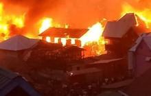 Trẻ tự nấu ăn gây hỏa hoạn thiêu rụi gần 200 ngôi nhà