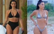 Nhìn body chuẩn đồng hồ cát của Kim Kardashian hiện giờ, bảo đảm bạn sẽ có thêm động lực giảm cân!