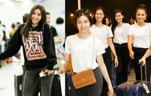 Minh Tú diện style khoẻ khoắn, cùng dàn thí sinh Miss Supranational Vietnam 2018 sang Hàn chuẩn bị đêm chung kết