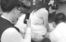 Trung Quốc: Nhìn thấy tai nạn trong ngày cưới của mình, nữ y tá bỏ mặc chú rể chạy đi cứu người