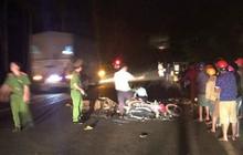 Hai xe máy đối đầu kinh hoàng trong đêm, 2 thanh niên 9x tử vong, 1 người nguy kịch