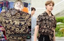 Haknyeon (The Boyz) mặc áo 90 ngàn mua chợ Bến Thành mà đẹp như áo hiệu, fan tấm tắc: lụa đẹp vì người là có thật!