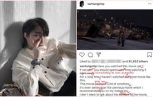 """Khi Sơn Tùng M-TP viết giới thiệu phim bằng tiếng Anh, cộng đồng mạng mở ngay hội đồng """"chấm thi"""" môn Ngoại Ngữ"""
