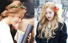 Người ta gắn hoa lên đầu thì sến mà Irene (Red Velvet) cài thì lập tức biến thành nữ thần