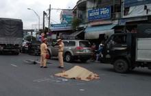 Người phụ nữ bán vé số chết thảm sau va chạm với xe tải ở Sài Gòn