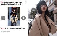 """""""Tránh bão"""" tại Vbiz, Jolie Nguyễn lên đồ chất chơi và âm thầm tỏa sáng tại London Fashion Week"""