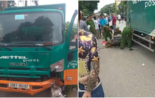 Bắc Giang: Va chạm với xe tải chạy cùng chiều, mẹ và con gái 2 tuổi tử vong thương tâm