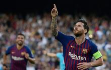 Messi lập hat-trick ngày mở màn Champions League