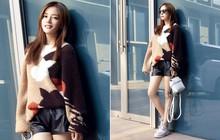 """Diện áo len dày sụ giữa trời thu, Triệu Vy lại khiến dân tình xao xuyến với style """"lão hóa ngược"""""""