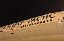 Hãng hàng không Cathay Pacific sơn lại máy bay cho mới, ai ngờ lại thiếu luôn chữ F mới đen