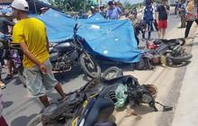 Ngã ra đường sau va quẹt với bạn đồng hành, nữ du khách nước ngoài bị xe tải cán tử vong