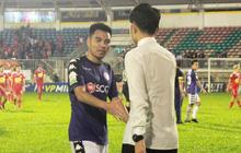 Xuân Trường, Văn Thanh bảnh bao đến động viên đồng đội HAGL sau trận thua Hà Nội