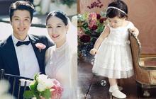 Con gái tài tử Lee Dong Gun và Jo Yoon Hee lớn nhanh khó tin, còn hơn tốc độ phát triển tình cảm của bố mẹ