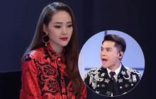 """Clip: Minh Hằng im thin thít khi nghe Nam Trung """"tấn công"""" thí sinh The Face dồn dập!"""