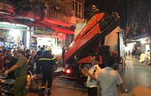 Cập nhật: Phát hiện 2 vật thể nghi sọ người chết trong vụ cháy dãy trọ cạnh viện nhi Trung ương