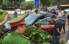 Hà Nội: Vừa bị xử phạt, tài xế xe Mazda 3 lại chạy náo loạn đường Cầu Diễn gây tai nạn