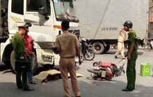 Hải Phòng: Va chạm với xe tải, nữ sinh trường Y bị cán tử vong