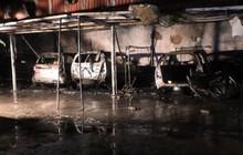 Cháy lớn tại gara ở Đà Nẵng, nhiều ô tô bị thiêu rụi