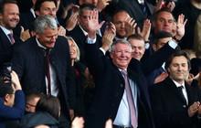 Sir Alex khỏe mạnh, rạng rỡ trong ngày MU bị cầm hòa đáng tiếc tại Old Trafford
