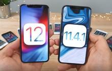 Kiểm chứng lời hứa của Apple bằng bài thử so sánh tốc độ giữa phiên bản iOS 12 và iOS 11.4.1