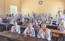 Góc đoàn kết: Nhân dịp Trung Thu, cả lớp quyết định mua mặt nạ đồng phục chủ đề Hoa Quả Sơn
