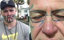 Một phút bốc đồng, ngàn năm bốc hỏa: Những thanh niên say xỉn, tỉnh dậy đã có ngay hình xăm trên mặt làm xuống dốc cả cuộc đời