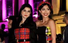 """Thảo Tiên - Đệ nhất Rich Kid Việt cùng mẹ lại tiếp tục """"chinh phục"""" Milan Fashion Week, điểm đến đầu tiên là show Versace"""
