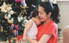 """Làm mẹ 2 nhóc tỳ sau 6 năm kết hôn, Tăng Thanh Hà chia sẻ: """"Có con là điều tuyệt vời nhất trên thế giới này"""""""