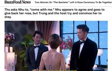 """Báo chí và fan quốc tế xôn xao về việc 2 thí sinh nữ """"Anh chàng độc thân"""" tỏ tình cùng nhau"""