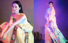Ngụp lặn đã lâu, Sulli lại gây tranh cãi vì diện hanbok chụp hình Trung thu nhưng trông không khác gì... kỹ nữ