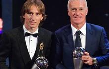 Vượt mặt Ronaldo, Modric trở thành cầu thủ xuất sắc nhất năm 2018 của FIFA