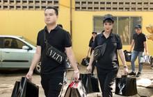 Mang bầu 8 tháng, Diệp Lâm Anh vẫn hăng hái cùng chồng thiếu gia đi làm từ thiện