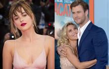 """Vợ của """"Thor"""" Chris Hemsworth dằn mặt mỹ nhân """"50 Sắc Thái"""" vì lo bị giật chồng?"""